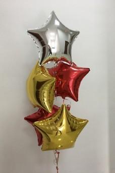 Стильное украшение окон к Новому году шарами срочно
