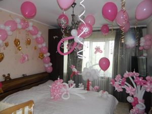 Необычное шары на выписку из роддома для девочки воздушными шариками срочно