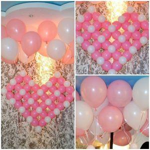 Интересное шары на выписку из роддома для девочки воздушными шарами срочно