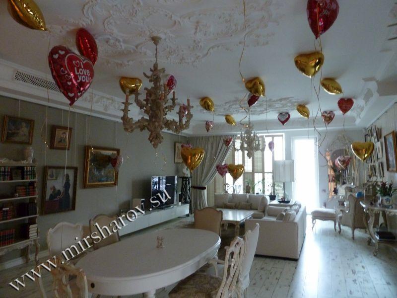 Оформление квартиры на свадьбу