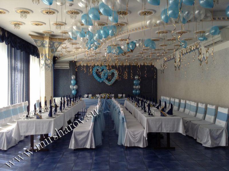Оформление столовой на свадьбу