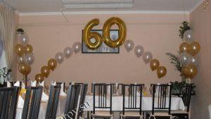 Недорогое оформление комнаты на день рождение шариками