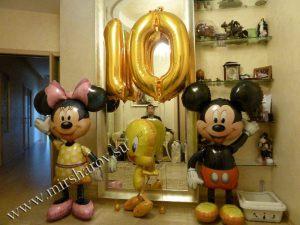 Оригинальное оформление комнаты на день рождение воздушными шарами недорого