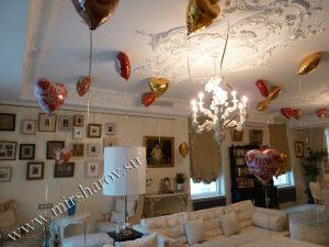 Необычное оформление комнаты на день рождение воздушными шариками в Москве