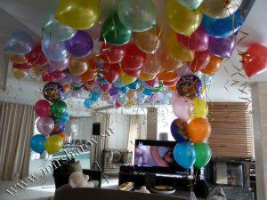 Тематическое оформление комнаты на день рождение шариками