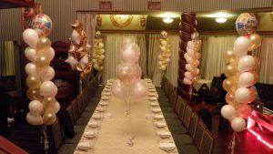 Стильное оформление зала на день рождение шарами срочно