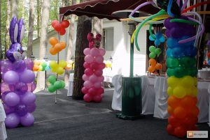 Недорогое оформление зала на день рождение в Москве
