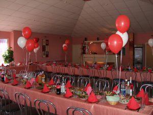 Оригинальное оформление зала на день рождение воздушными шариками